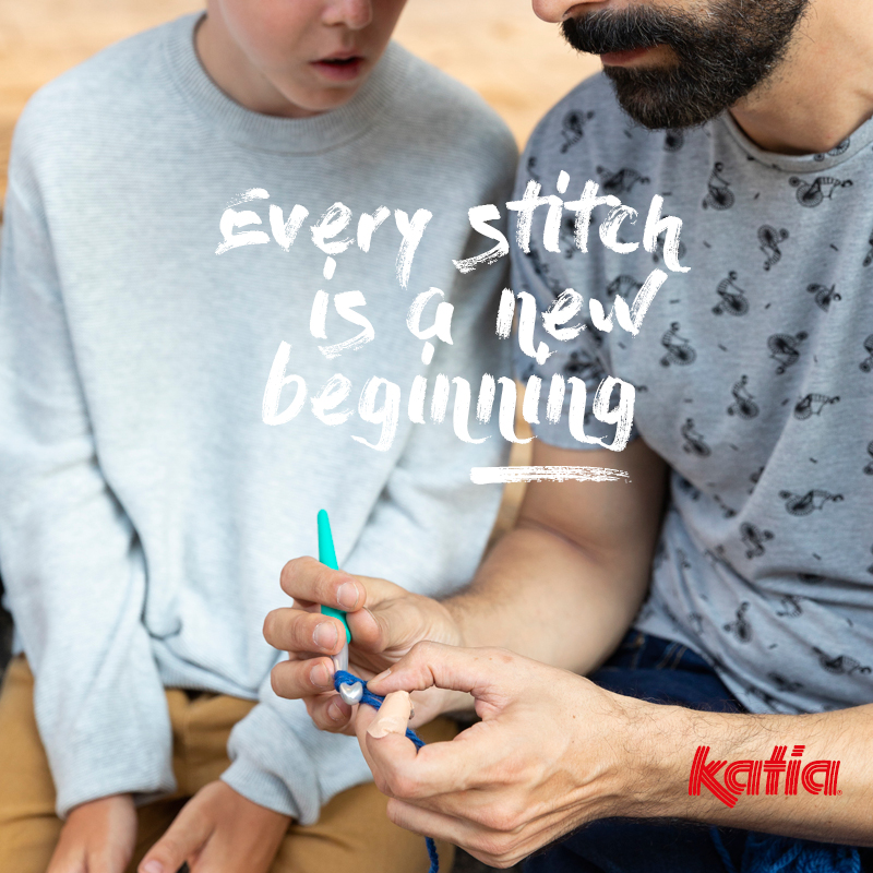 kits voor beginners - leer haken en breien