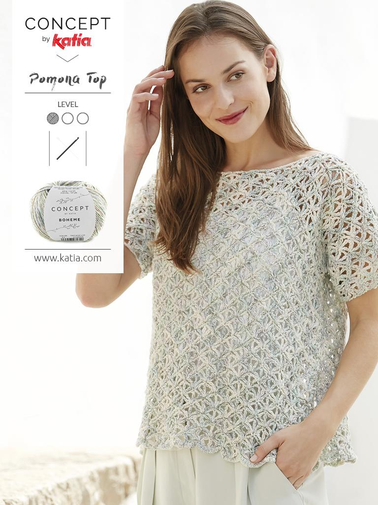 kantpatronen Concept by Katia - gehaakt shirtje
