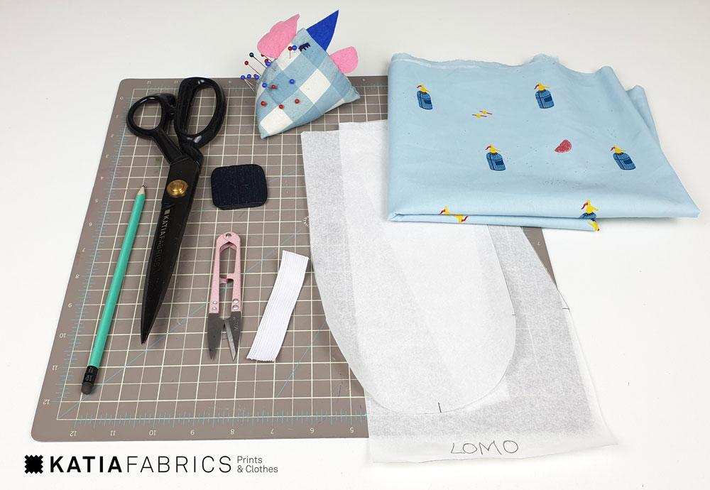 haarkapje naaien van stof - gratis tutorial