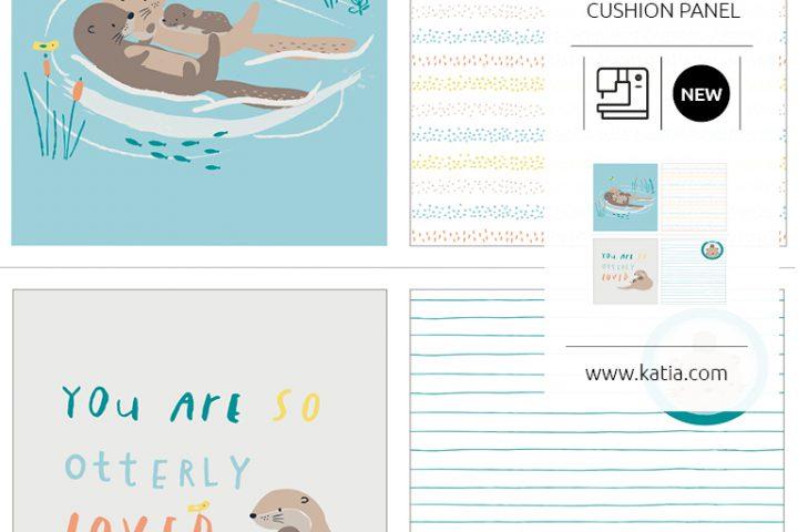 Baby badcape naaien met Katia Fabrics - gratis naaittutorial