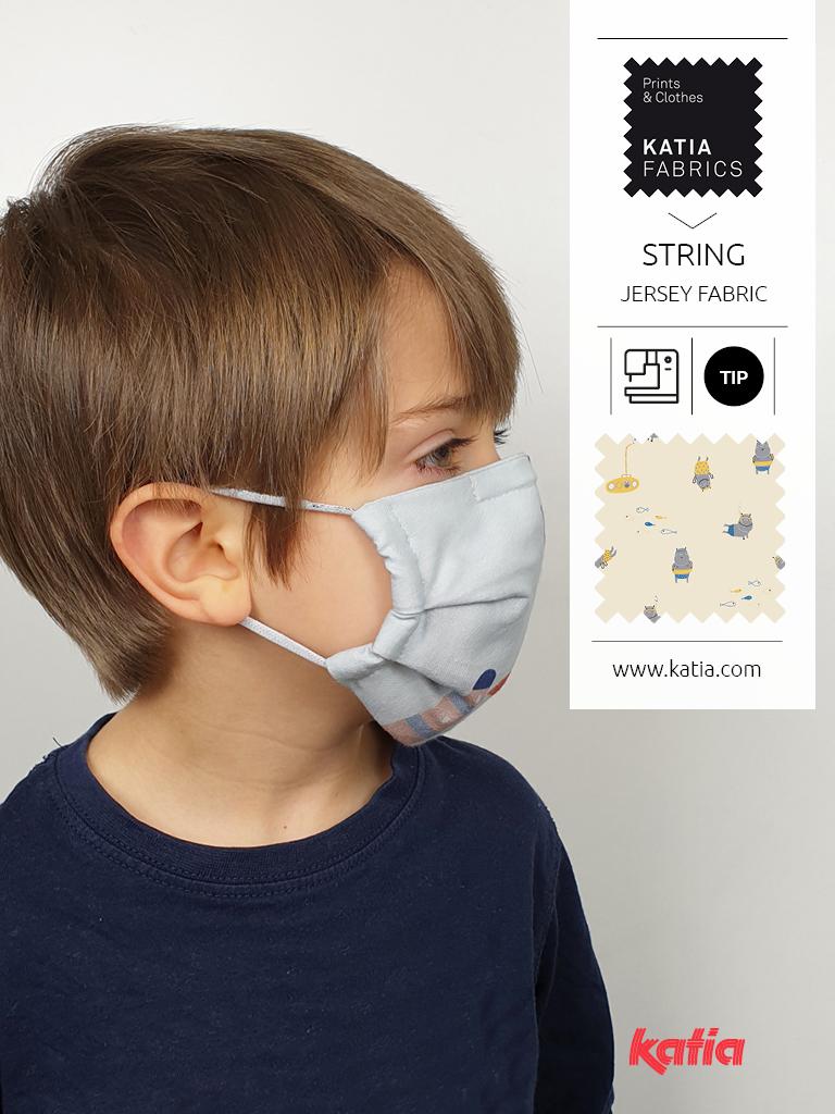 Zelf mondkapjes maken: elastiek vervangen door stof