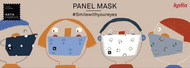 13 verschillende panelen voor het maken van mondmaskers voor de hele familie