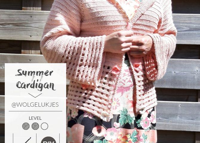 Gehaakt zomervestje door Linda Daas @wolgelukjes - gratis haakpatroon