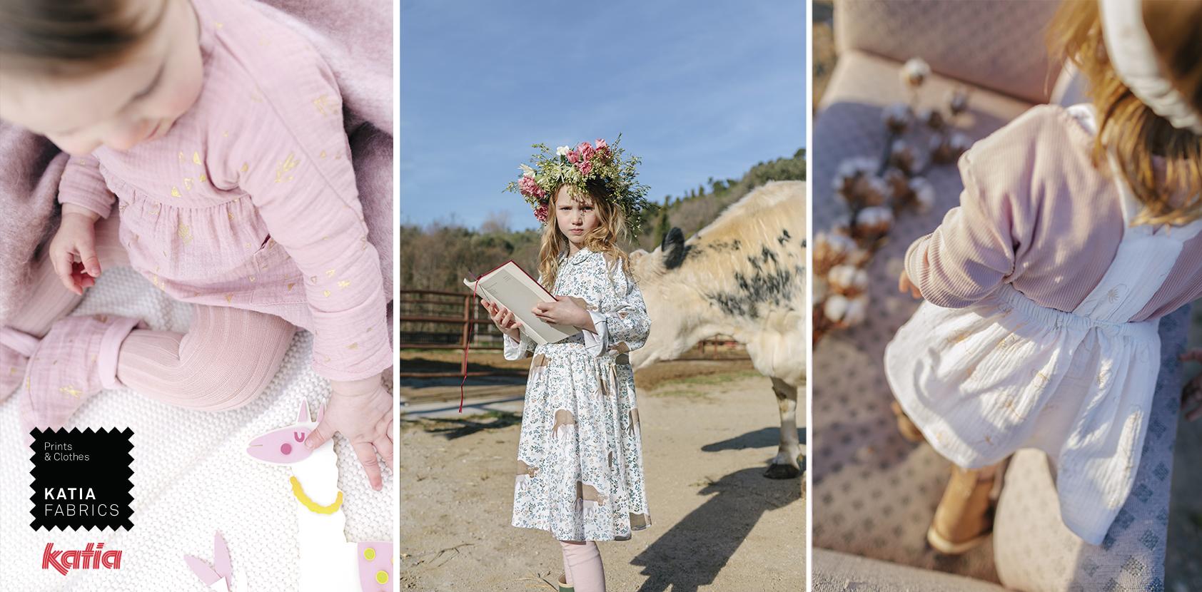 Katia Fabrics herfst- en wintercollectie 2020/2021 met stoffen geïnspireerd door onze lievelingssprookjes