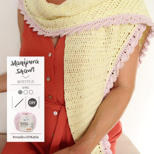 Manipura sjaal door @desteje - gratis haakpatroon