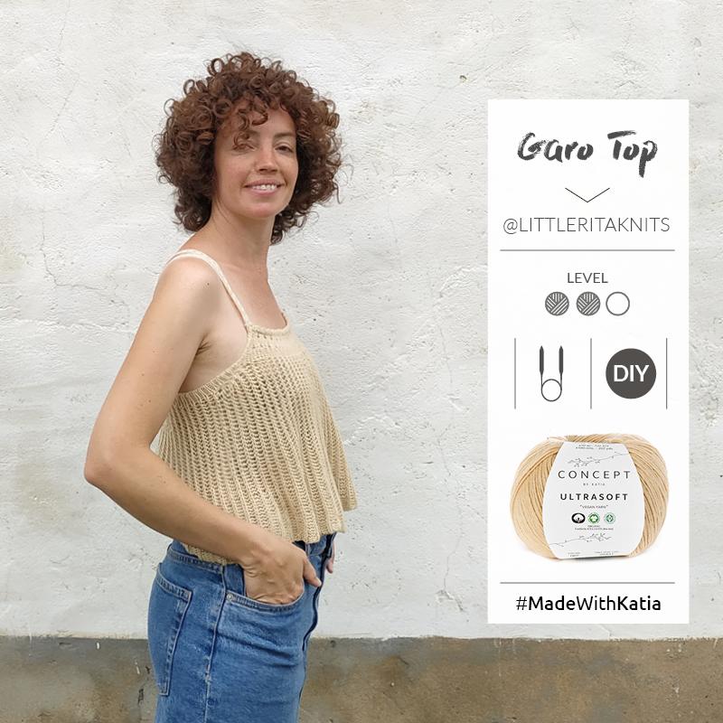 Garo Top van Little Rita: luchtige zomerse top