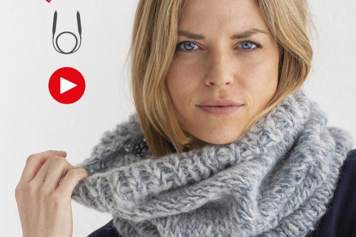 Leer breien op rondbreinaalden met onze stap-voor-stap video's