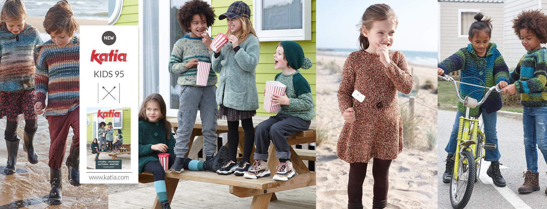 Eenvoudige breipatronen voor kinderen: herfst- en wintercollectie 2020/2021