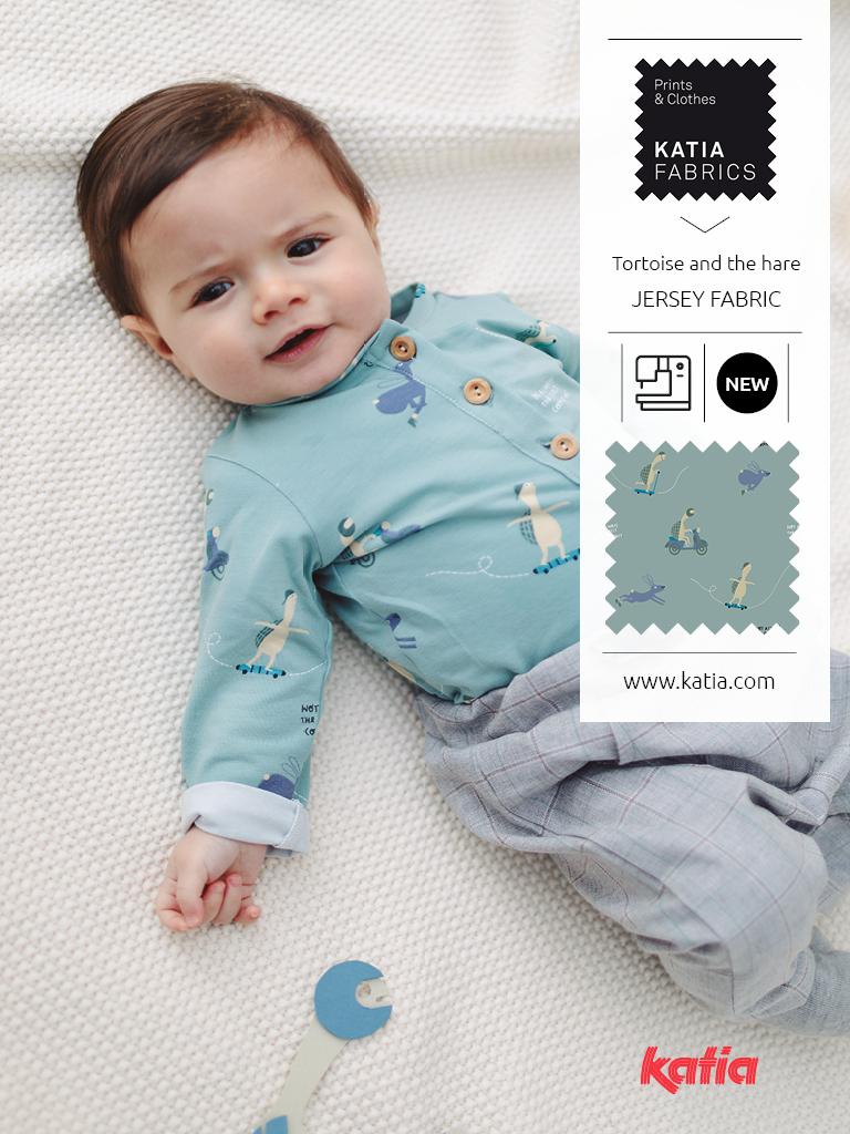 ORIGINS naaitijdschrift Katia Fabrics - herfst- en wintercollectie 2020/2021