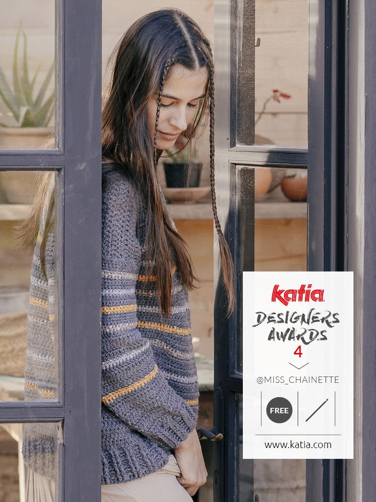 Katia Designers Awards 5 - jouw haak- of breipatroon gepubliceerd in een Katia magazine