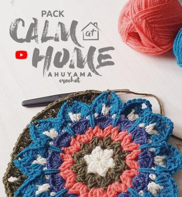 Leer prachtige mandala's haken met de haakchallenge van Ahuyama Crochet + Katia