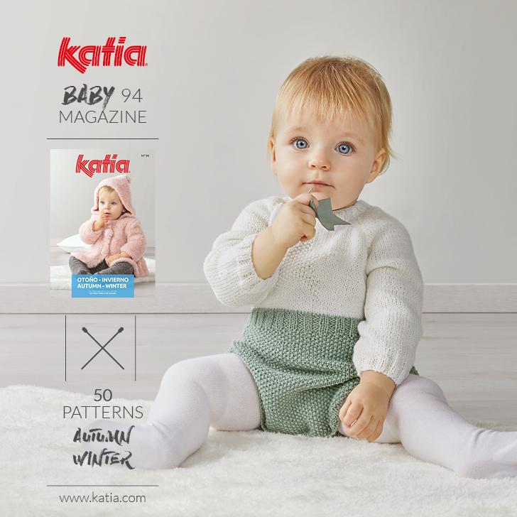Katia Baby 94 Magazine - 50 breipatronen voor baby's