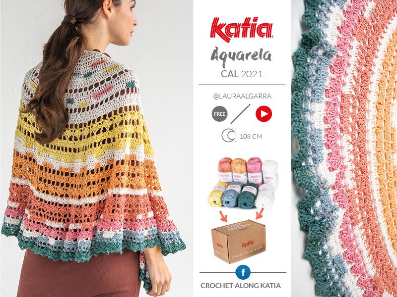 Aquarela CAL - Katia lente zomer CAL 2021 met Katia Capri kit
