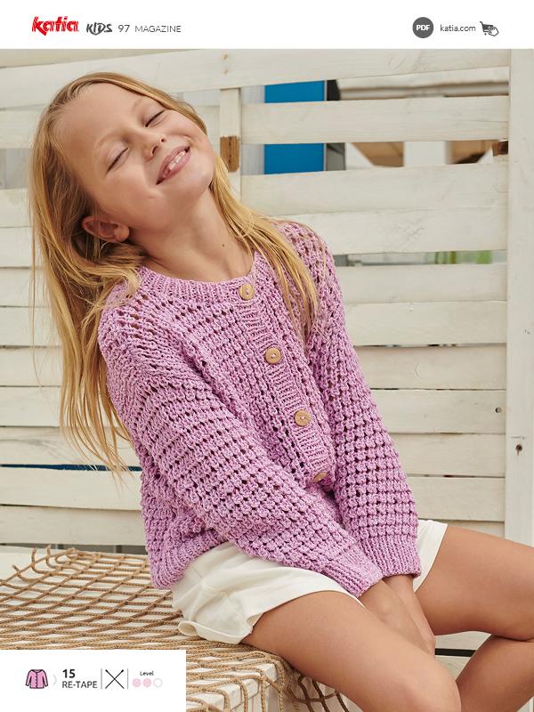 10 eenvoudige zomerse breipatronen en haakpatronen voor meisjes