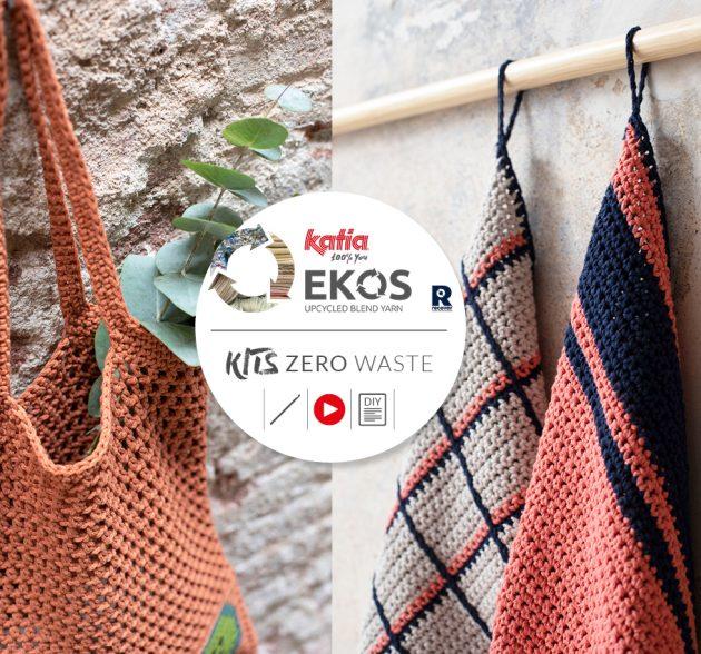 """Zero Waste EKOS Collectie: 12 """"zero waste"""" haakprojecten voor een duurzaam huis"""