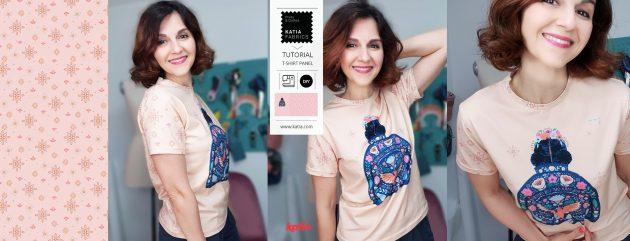 Leer een basic jersey t-shirt naaien met Katia Fabrics