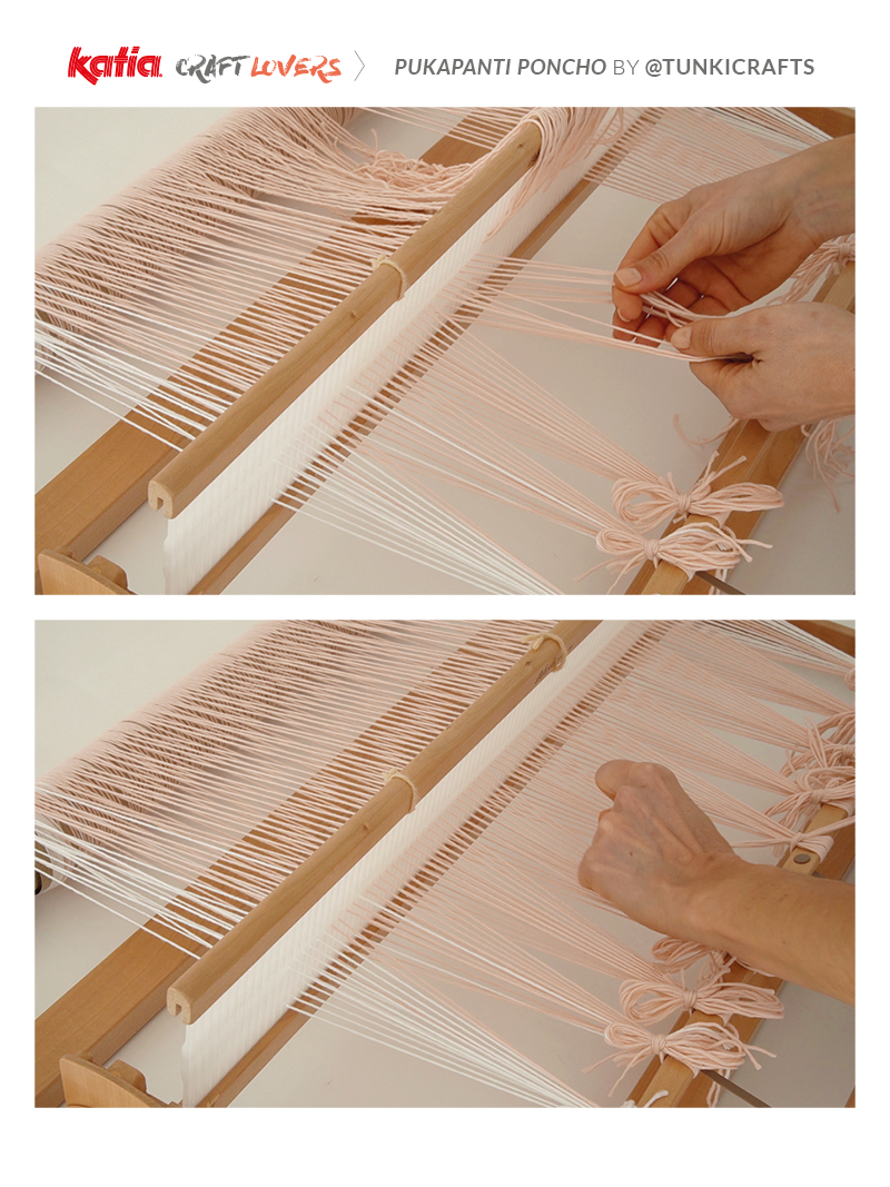 poncho weven tutorial