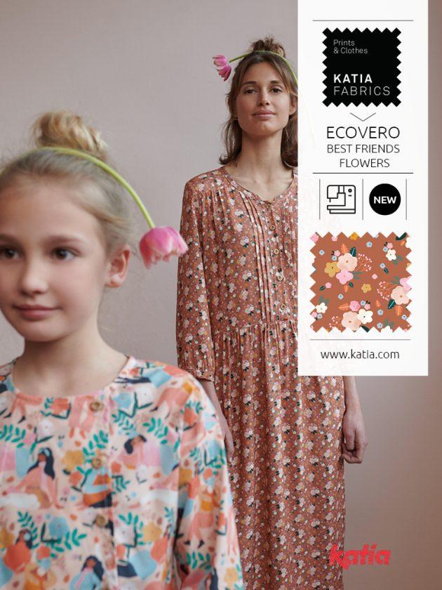 Katia Fabrics miniME herfst- en wintercollectie 2021/2022