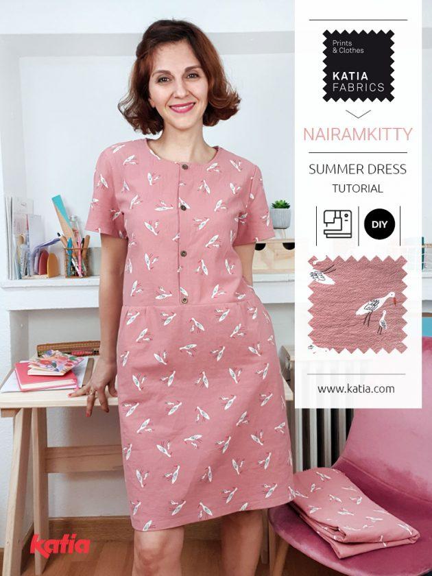 Leer een jurk naaien met Katia Fabrics en onze video tutorial