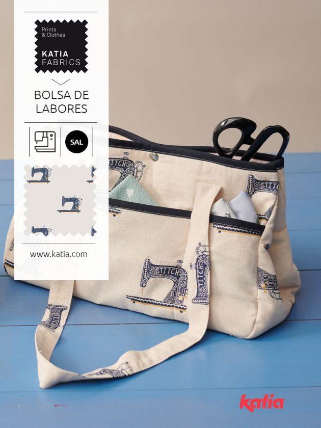 Katia SAW 2021: leer samen een projecttas naaien