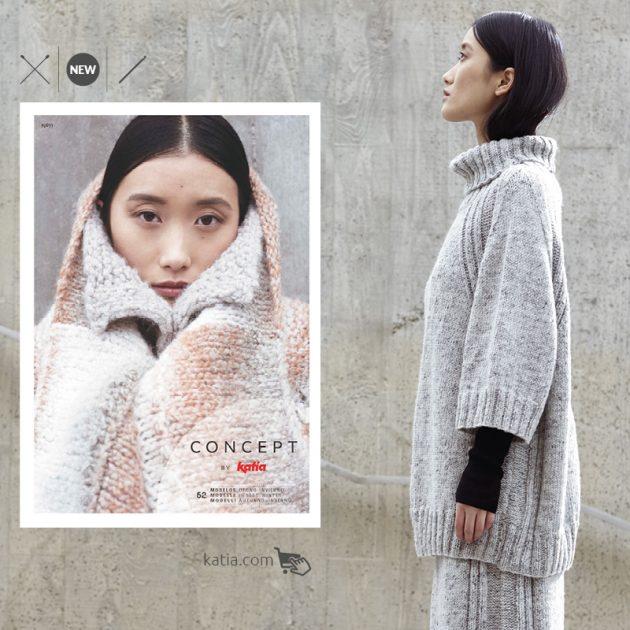 52 minimalistische patronen in Katia Magazine Concept 11