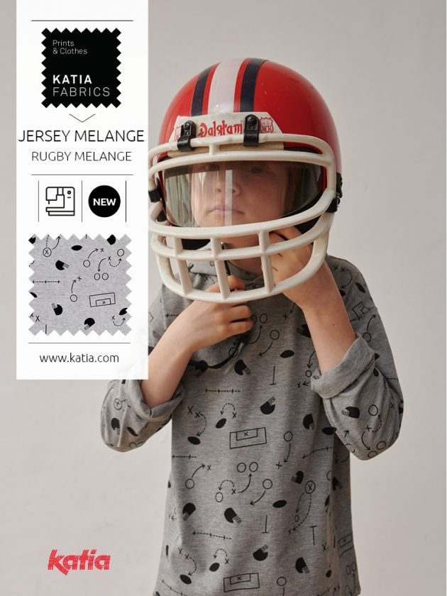 Katia Fabrics rugby stoffencollectie