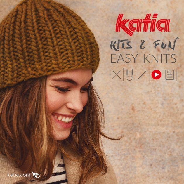 Kits & Fun Easy Knits - haken en breien voor beginners