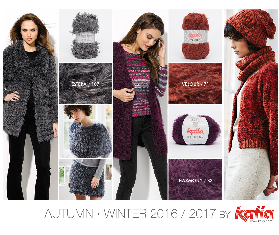2488ee2ce 10 Autumn – Winter 2016 / 2017 Fashion Trends that you can knit or crochet  yourself using our yarns and pattern magazines