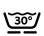Lavable a máquina 30º Programa Lana
