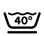 Machine wasbaar 40º Kort centrifugeren