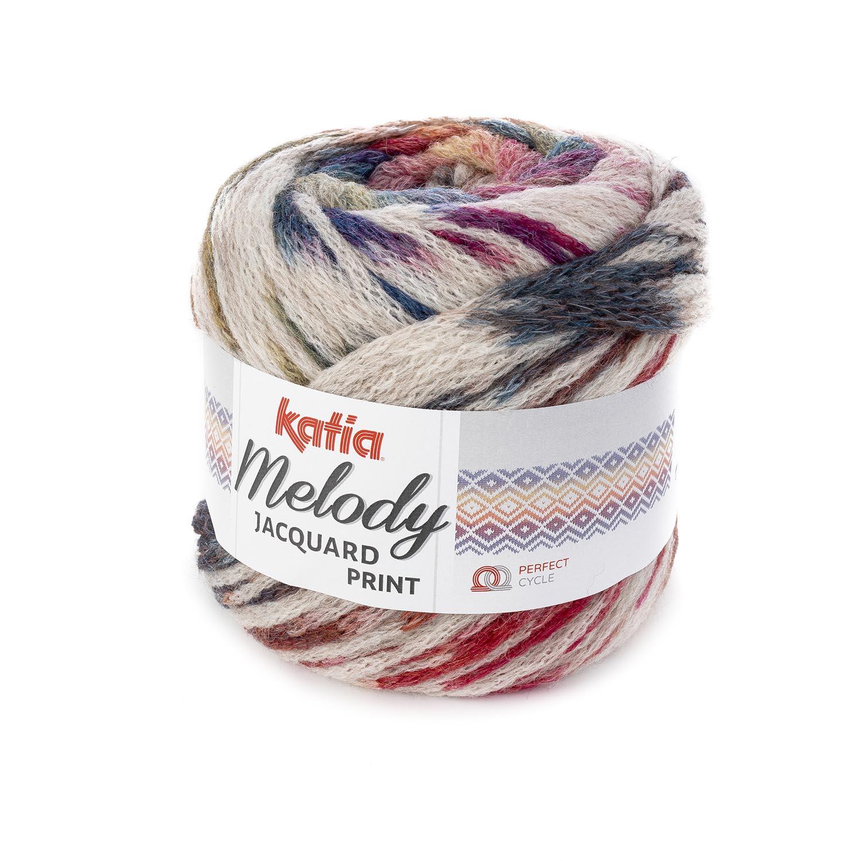 MELODY JACQUARD PRINT - Autumn / Winter - yarns | Katia