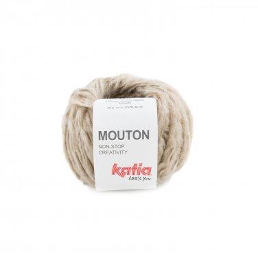 garn wolle mouton stricken polyacryl mohair polyamid beige herbst winter katia 65 p