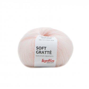 garn wolle softgratte stricken polyacryl polyamid hellrosa herbst winter katia 78 p