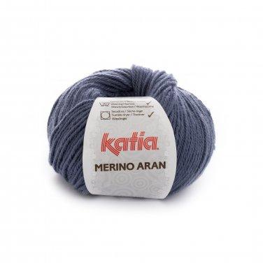 lana hilo merinoaran tejer merino superwash acrilico azul medio otono invierno katia 58 p