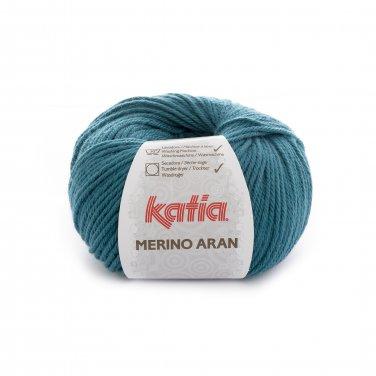 lana hilo merinoaran tejer merino superwash acrilico azul verdoso otono invierno katia 56 p
