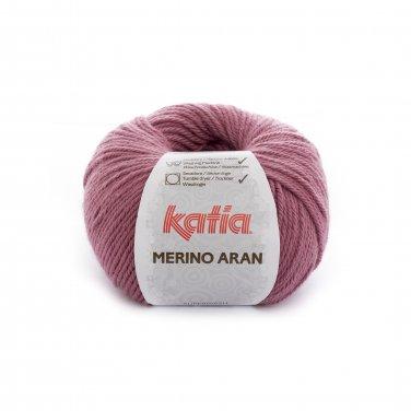 lana hilo merinoaran tejer merino superwash acrilico rosa oscuro otono invierno katia 54 p