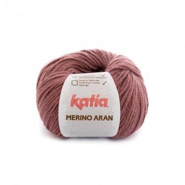lana hilo merinoaran tejer merino superwash acrilico rosa oscuro otono invierno katia 84 p