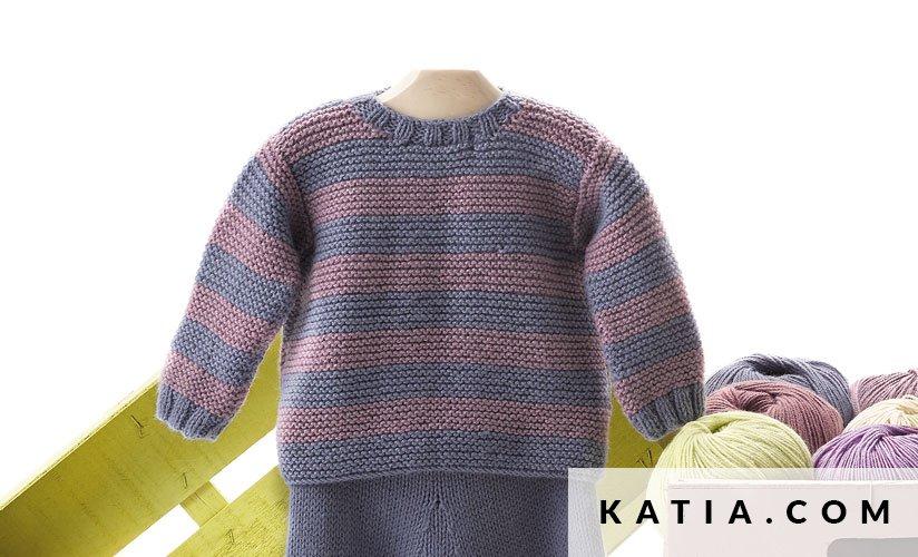 Pullover - Baby - Herbst / Winter - Modelle & Anleitungen   Katia.com