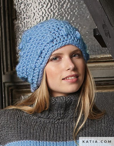 Verwonderlijk Muts - Dames - Herfst / Winter - modellen & patronen | Katia.com FY-18