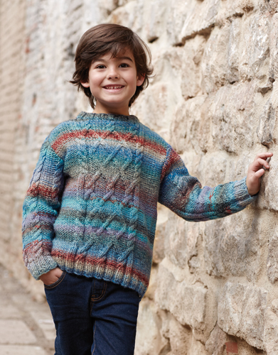 Jersey - Niños - Otoño / Invierno - patrones | Katia.com
