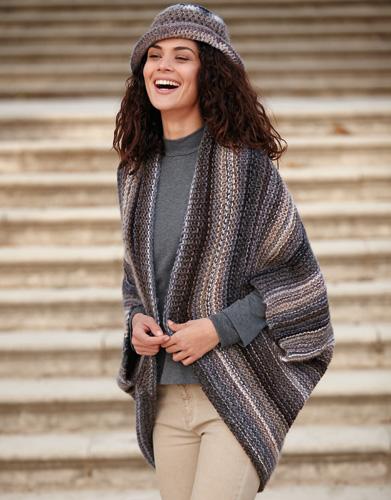 Cape - Damen - Herbst / Winter - Modelle & Anleitungen | Katia.com