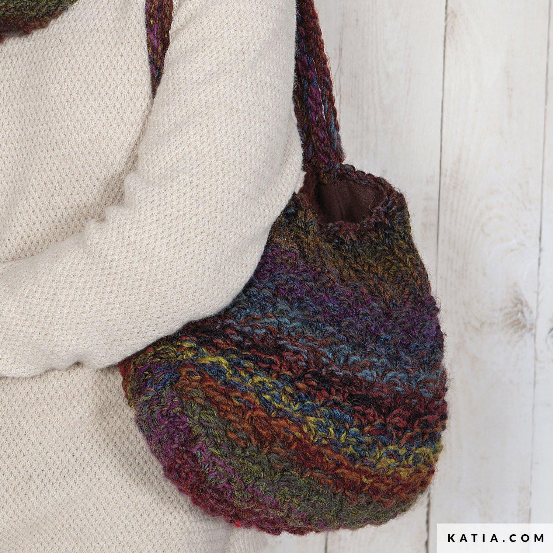 Tasche - Damen - Herbst / Winter - Modelle & Anleitungen | Katia.com