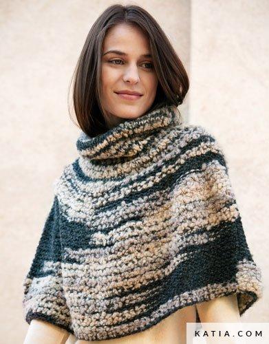 Capa - Mujer - Otoño / Invierno - patrones   Katia.com