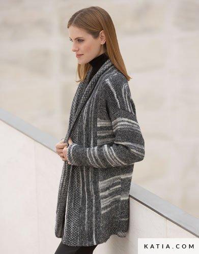 Modelos chaquetas punto mujer