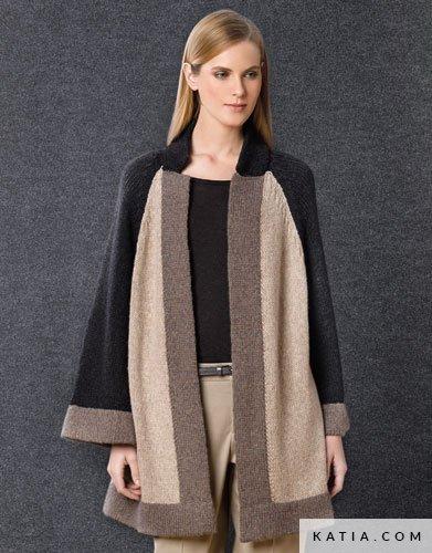 Modele de manteau au crochet pour femme