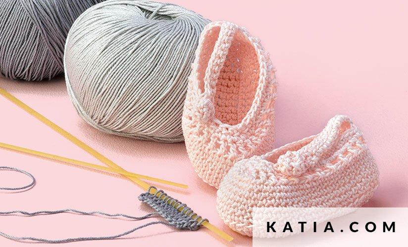 Patucos - Bebé - Primavera / Verano - patrones   Katia.com