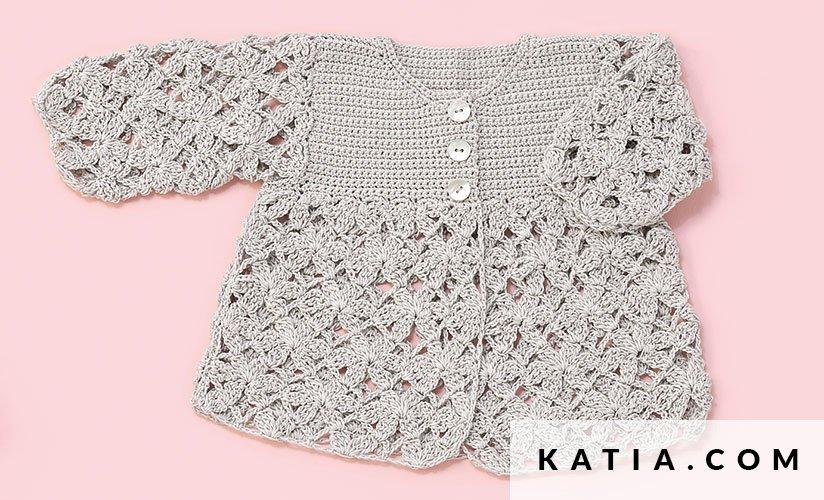 Jacket - Baby - Spring / Summer - models & patterns   Katia.com