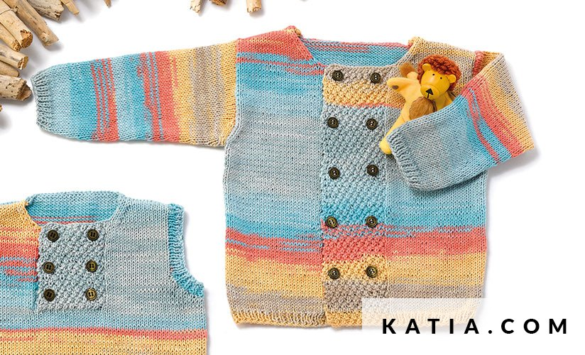 Jacket Baby Spring Summer Models Patterns Katia