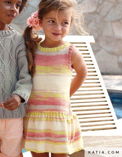 Dress Kids Spring Summer Models Patterns Katia