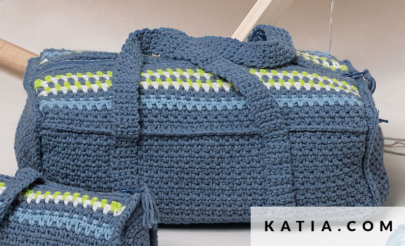Bolsa - Hogar - Primavera / Verano - patrones | Katia.com